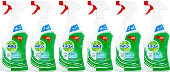 Dettol Power & Fresh Spray Allesreiniger